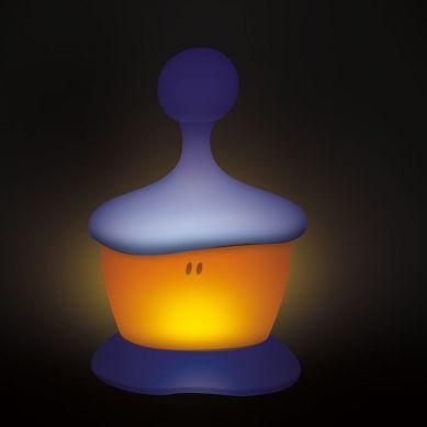 Beaba - Lampka Nocna LED Przenośna Pixie Stick 100h Świecenia Mineral