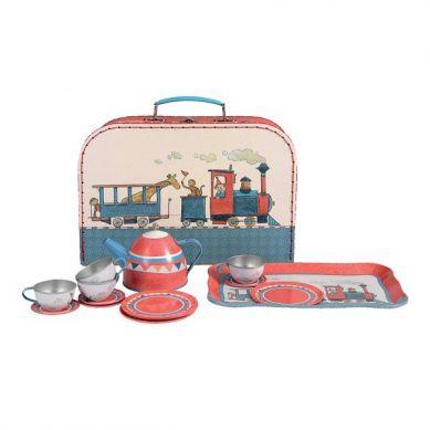 Egmont Toys - Walizka Zestaw herbacianych Pociąg