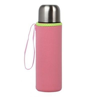 Kiokids - Etui na Termos lub Butelkę Neoprenowe Różowe