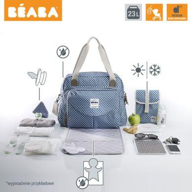 Beaba - Torba dla Mamy Geneva PLAY PRINT Blue