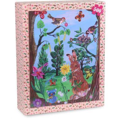 Vilac - Las Puzzle 500 elementów by Nathalie Lété Drewniane