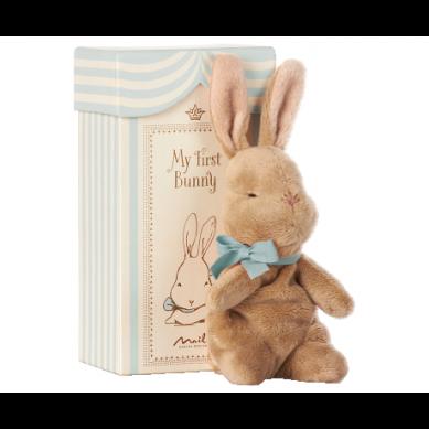 Maileg - Przytulanka Mini Bunny w Pudełeczku