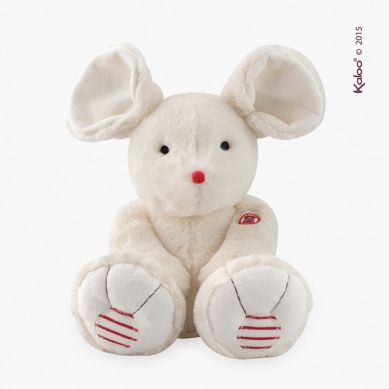 Kaloo - Przytulanka Kolekcja Rouge Myszka Kość Słoniowa Duża 38 cm
