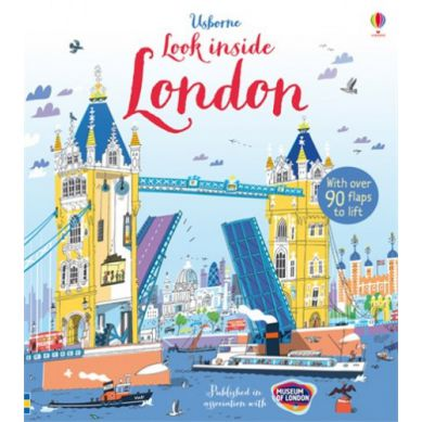Wydawnictwo Usborne Publishing - Look Inside London