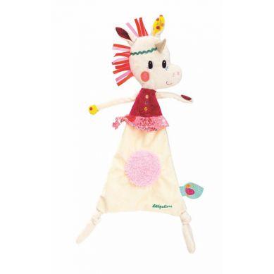 Lilliputiens - Kocyk Przytulanka w Pudełku Jednorożec Louise