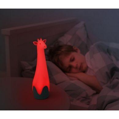 Zazu - Lampka z Latarką Żyrafa Gina Grey