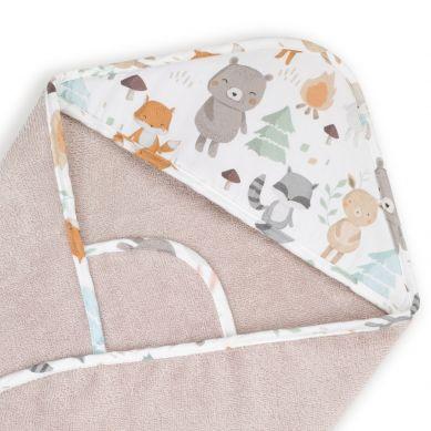 ColorStories - Ręcznik Bawełniany z Kapturem Woodland Beige72x72cm