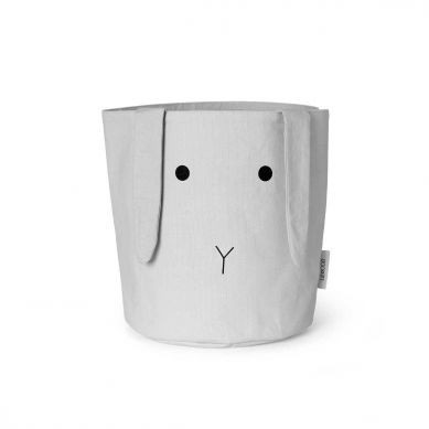 Liewood - Kosz na Zabawki Rabbit Dumbo Grey
