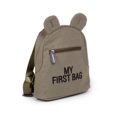 Childhome - Plecak Dziecięcy My First Bag Kanwas Khaki