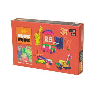 Plus Plus - Klocki Mini Neon 480 szt. 3w1