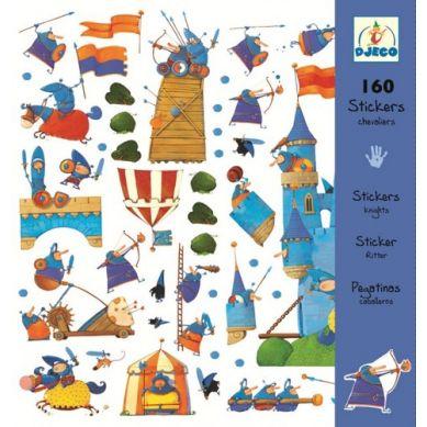 Djeco Naklejki Dekoracyjne Rycerze i Smoki