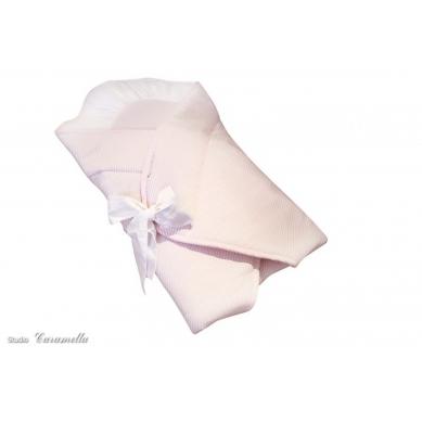 Caramella - Rożek Rózowo-biały