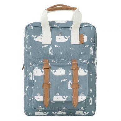 Fresk - Plecak Wieloryb Niebieski
