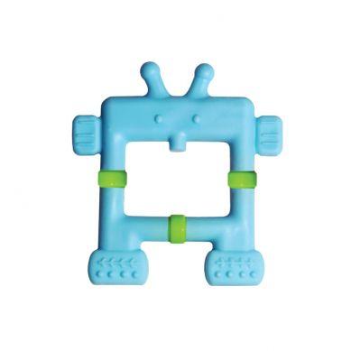 innoBaby - Gryzaczek Robot Niebieski 0m+