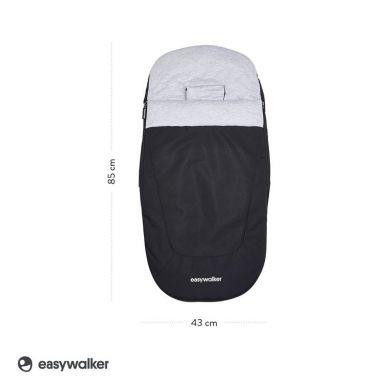 Easywalker - Śpiworek do wózka na zimę Night Black