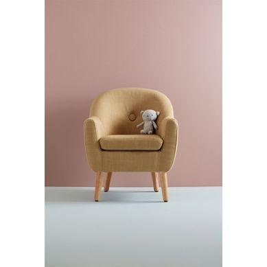 Kids Concept - Fotel Dziecięcy Yellow Beige