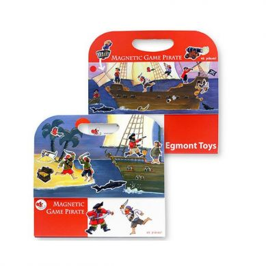 Egmont Toys - Układanka Magnetyczna Piraci 3+