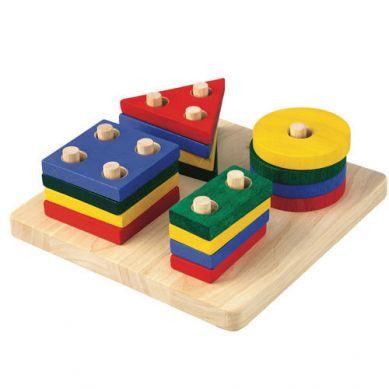 Plan Toys Plansza Z Figurami Do Sortowania