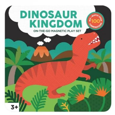 Petit Collage - Magnetyczne Postacie Dinozaur 3+