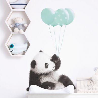 Dekornik - Naklejka Ścienna Słodka Panda 2 70x120