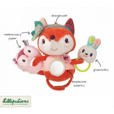 Lilliputiens - Zabawka do Wózka Lisica Alice
