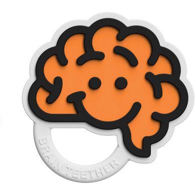 Fat Brain Toys - Gryzak Mózg Pomarańczowy