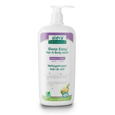 Aleva Naturals -  Sleep Easy Żel do Mycia Ciała 240ml