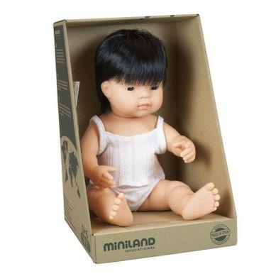 Miniland - Lalka Chłopiec Azjata 38cm