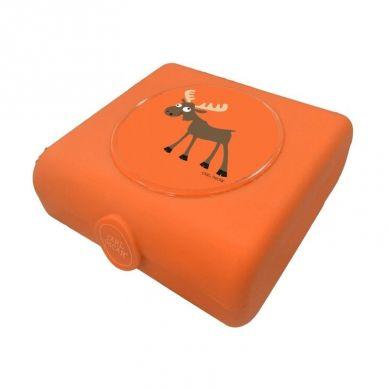 Carl Oscar - Kids Sandwich Box Pojemnik na Przekąski i Kanapki Orange Moose