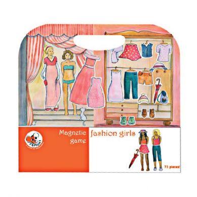 Egmont Toys - Układanka Magnetyczna Fashion Moda 3+