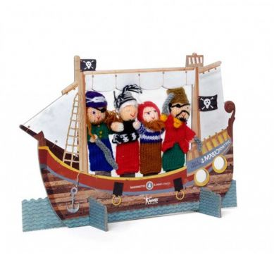 Londji - Teatrzyk Pacynki na palce Piraci