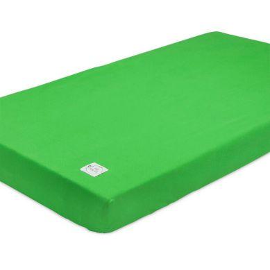 Maki Mon Ami - Prześcieradło z Gumką Zielone 70x140cm