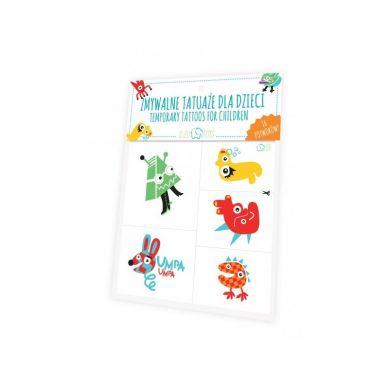 Zuzu Toys - Tatuaże dla Dzieci Potwory