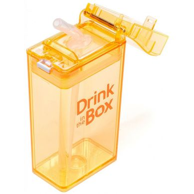 Drink In The Box - Bidon ze Słomką Orange 240ml