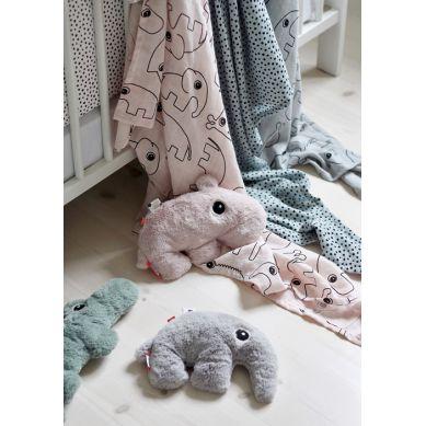 Done By Deer - Przytulanka Hipopotam Pink