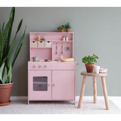 Little Dutch - Drewniana Kuchnia Różowa 3+