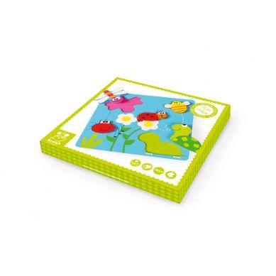 Scratch - Puzzle w Ogrodzie 3D 18m+