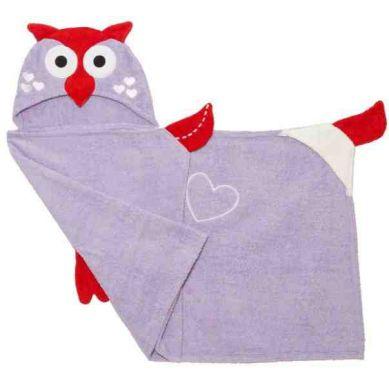 Zoocchini Ręcznik z Kapturem Sowa