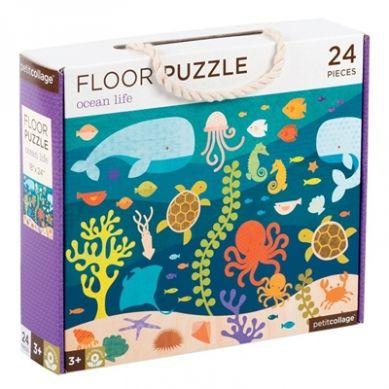 Petit Collage - Puzzle Podłogowe Ocean