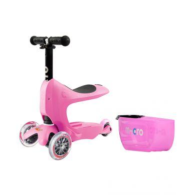 Micro - Hulajnoga Mini2Go Deluxe Różowa