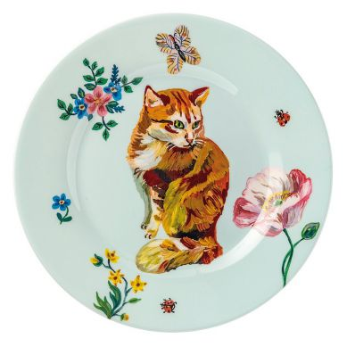 Petit Jour Paris - Okrągły Talerzyk Rudy Kot Nathalie Lete