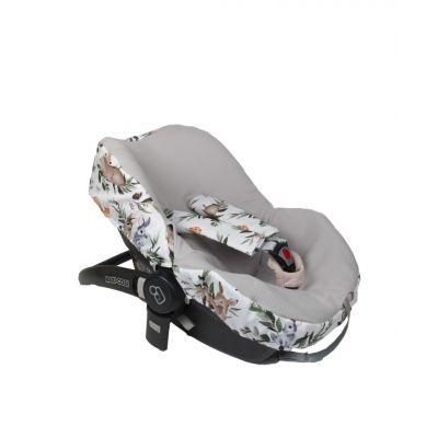 Muzpony -  Pokrowiec na Fotelik Maxi-Cosi Leśne Zwierzęta