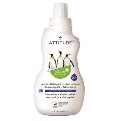 Attitude - Płyn do Prania i Płukania 2 w 1 Górska Świeżość Mountain Essentials 35 prań - 1040 ml