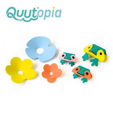 Quut - Zestaw Puzzli Piankowych 3D Quutopia Żabki 3+
