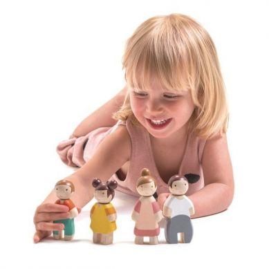 Tender Leaf Toys - Rodzinka Leaf Zestaw Laleczek 3+