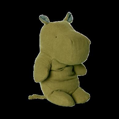 Maileg - Przytulanka Safari Friends Large Hippo Green