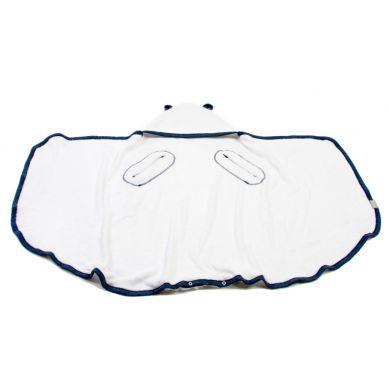 Poofi - Bambusowy Ręcznik Wielofuncyjny 130x75cm Granatowy