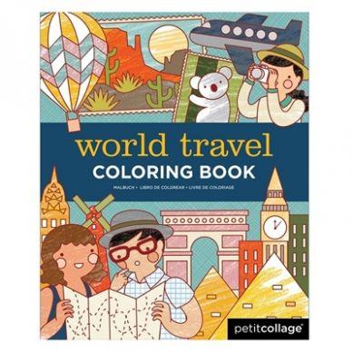 Petit Collage - Kolorowanka w Podróży