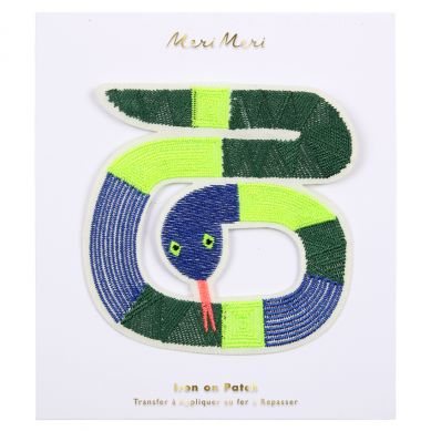 Meri Meri - Naprasowanka Snake