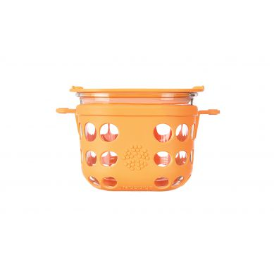 Lifefactory - Pojemnik na żywność 475ml Orange